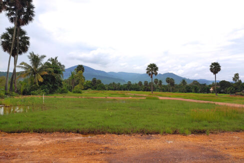 15449 Sq,m Land Next To Stream For Sale @ Kampot Province Img1
