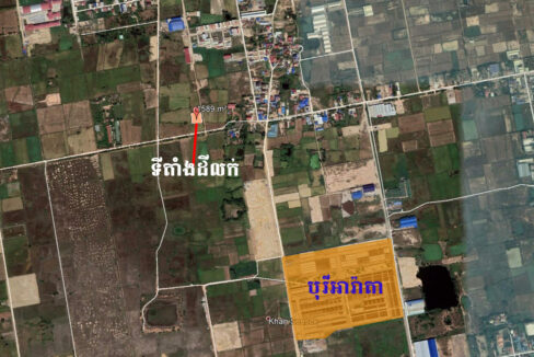 1589 Sq.m Potential Land For Sale Near ARATA Garden Residences Map