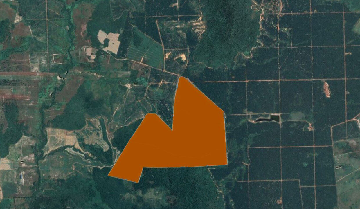 160 Hectares Land For Sale In Steung Chhay Commune Location