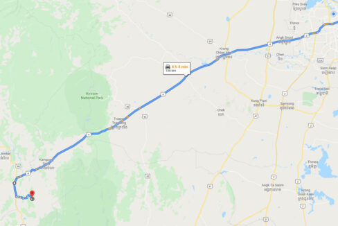 160 Hectares Land For Sale In Steung Chhay Commune Map