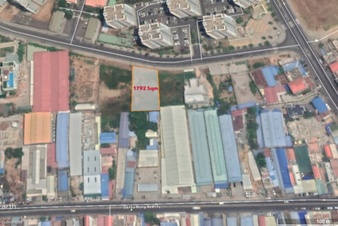 1792 Sq.m Commercial Land For Sale Face To Camko City 5