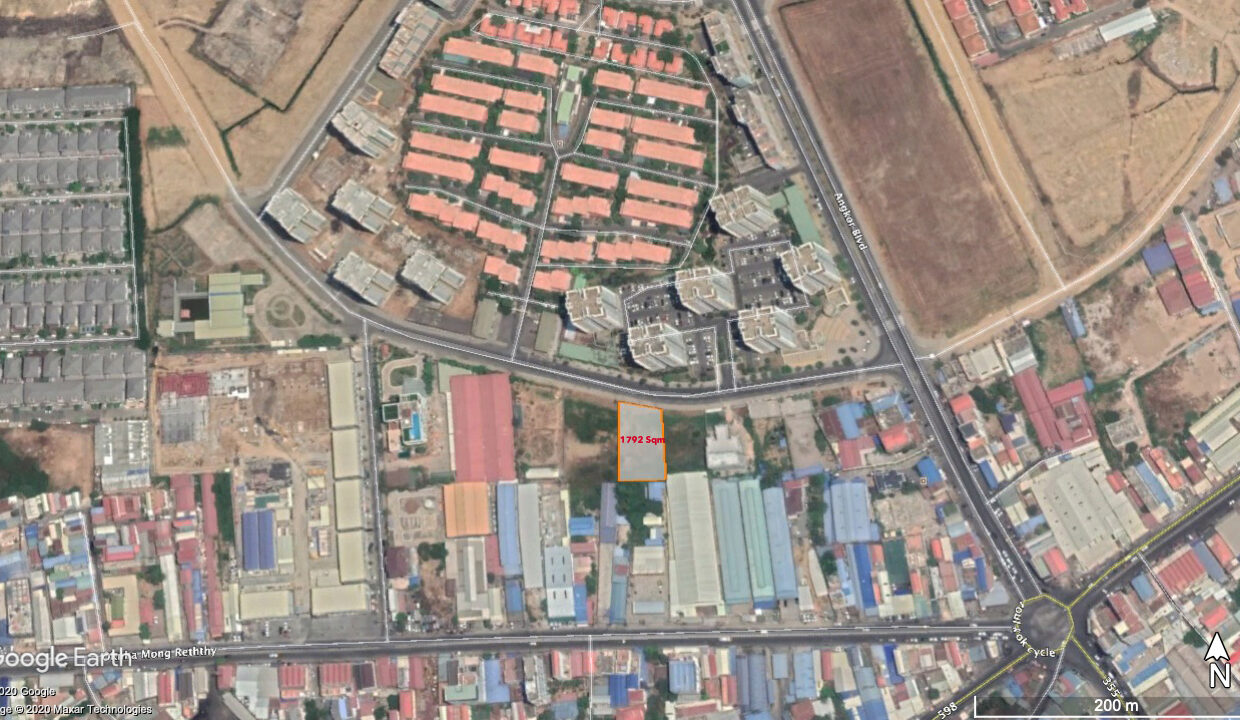 1792 Sq.m Commercial Land For Sale Face To Camko City 6