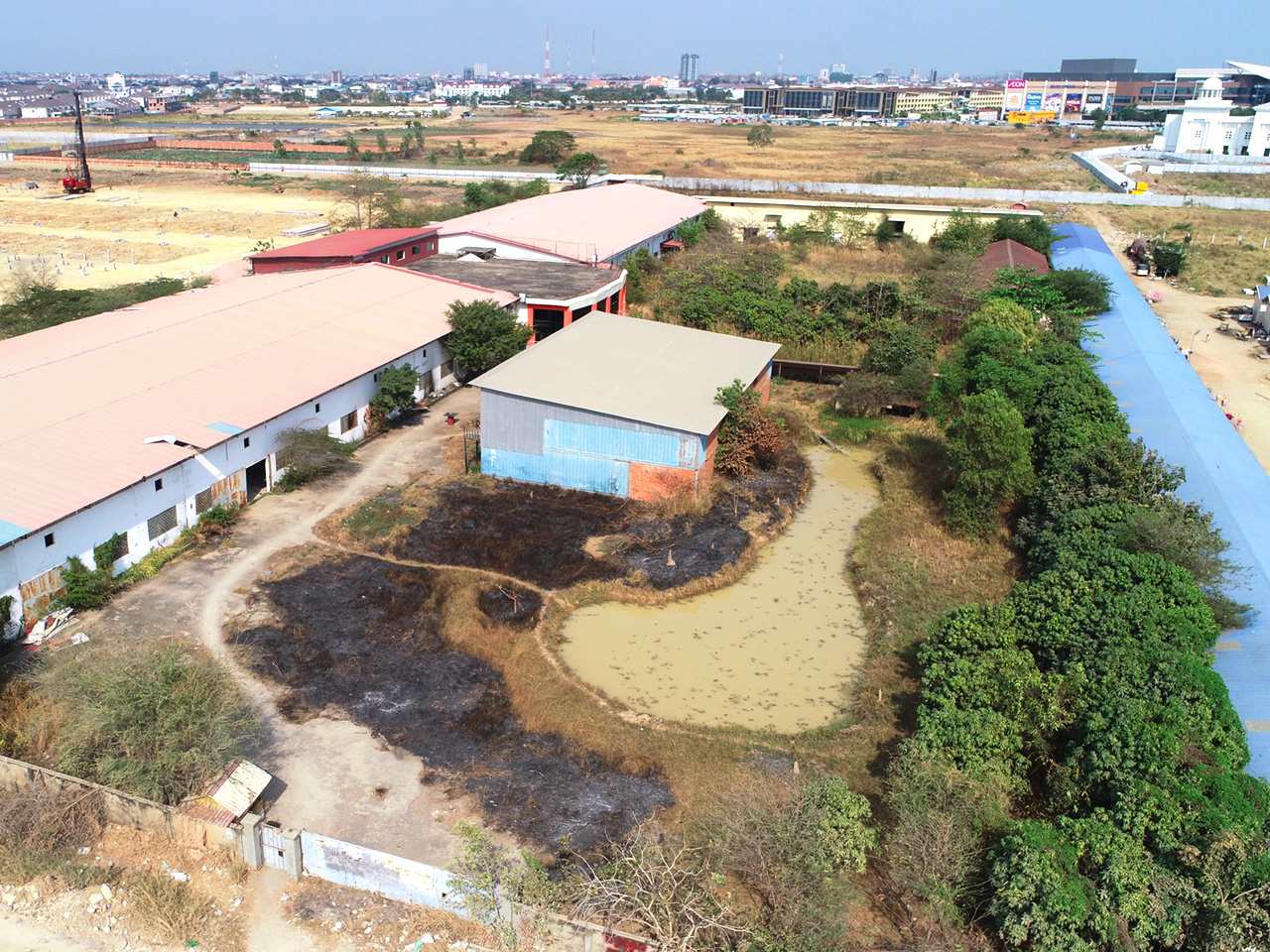 22168 Square meters land for sale in front of AEON Mall 2