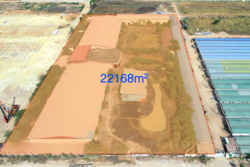 22168 Square Meters Land For Sale In Front Of AEON Mall 2 2