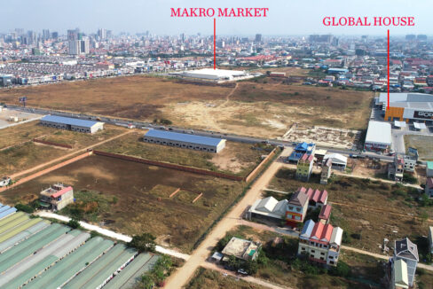 22168 Square Meters Land For Sale In Front Of AEON Mall 2 4