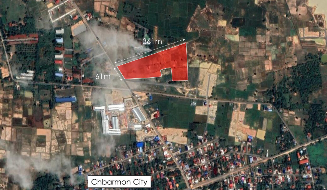 3.5 Ha Land For Sale Krong Chbar Mon, Kampong Speu Location