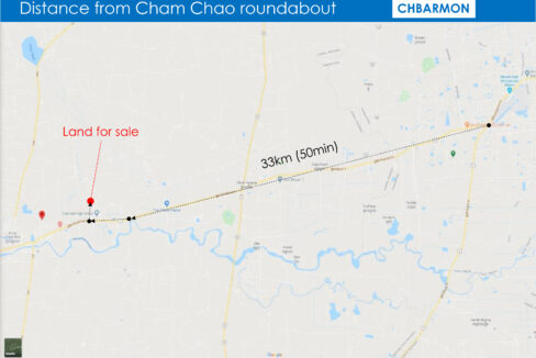 3.5 Ha Land For Sale Krong Chbar Mon, Kampong Speu Map