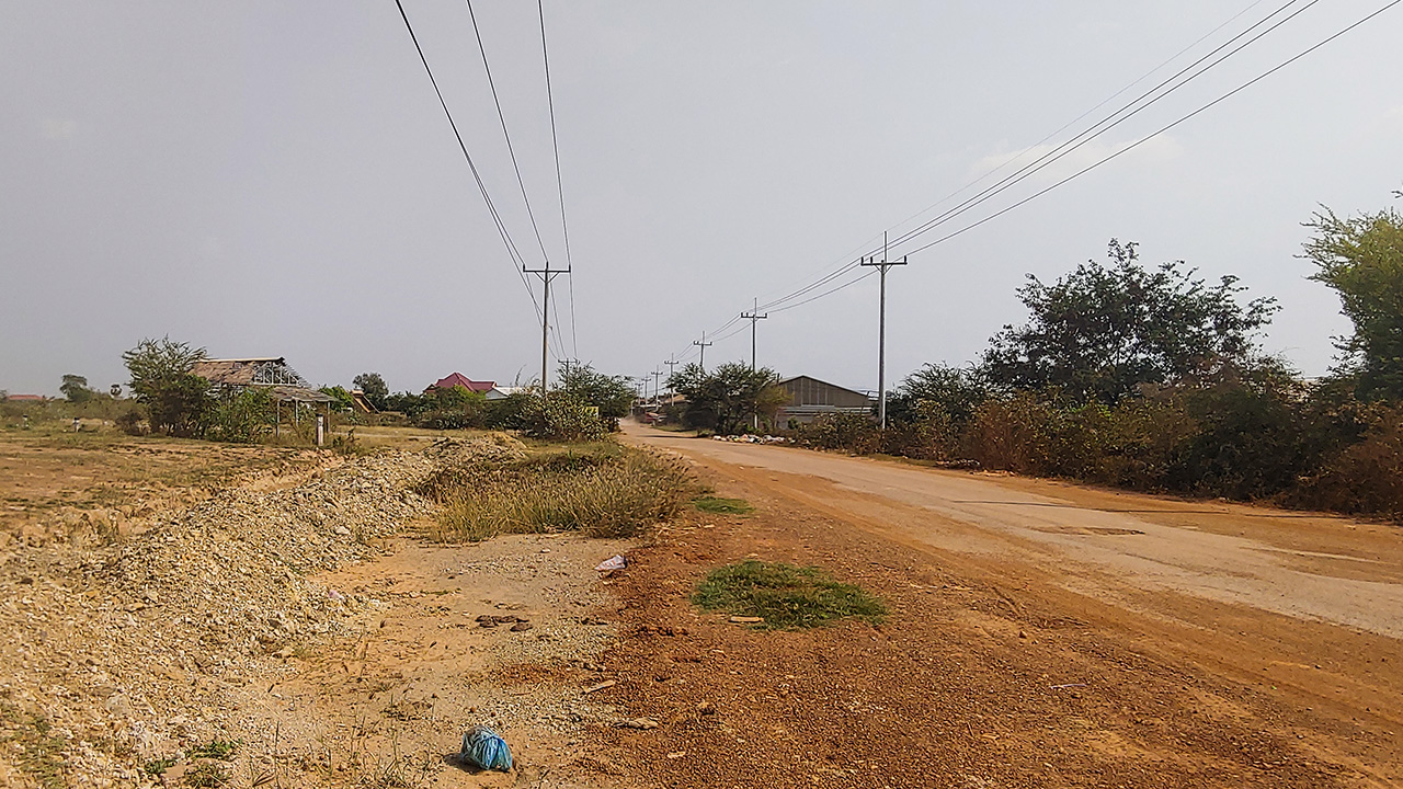 3.5 Ha Land for Sale – Krong Chbar Mon, Kampong Speu