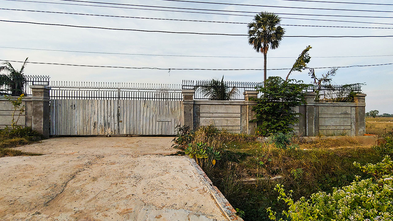 5000 Sq.m Commercial Land for rent in Sen Sok area