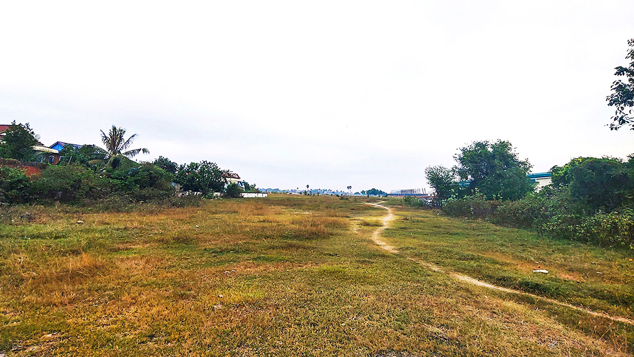 6.65 Land for sale along National Road 4, Trapeang Kong Commune