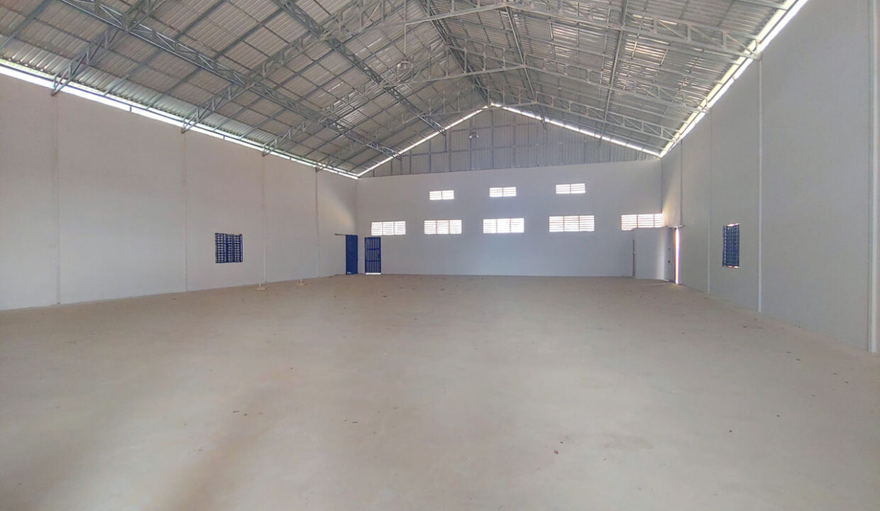 600 Sq.m New Build Warehouse For Rent In Phnom Penh Thmei Area 1
