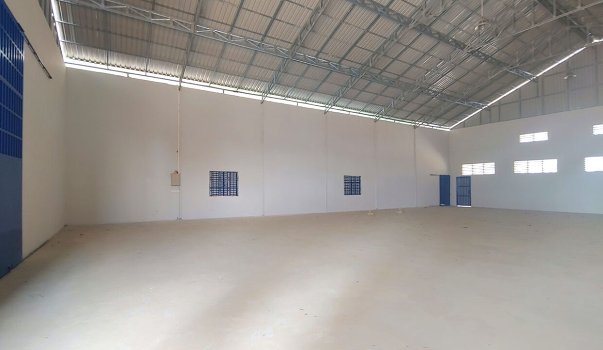600 Sq.m New Build Warehouse For Rent In Phnom Penh Thmei Area 2
