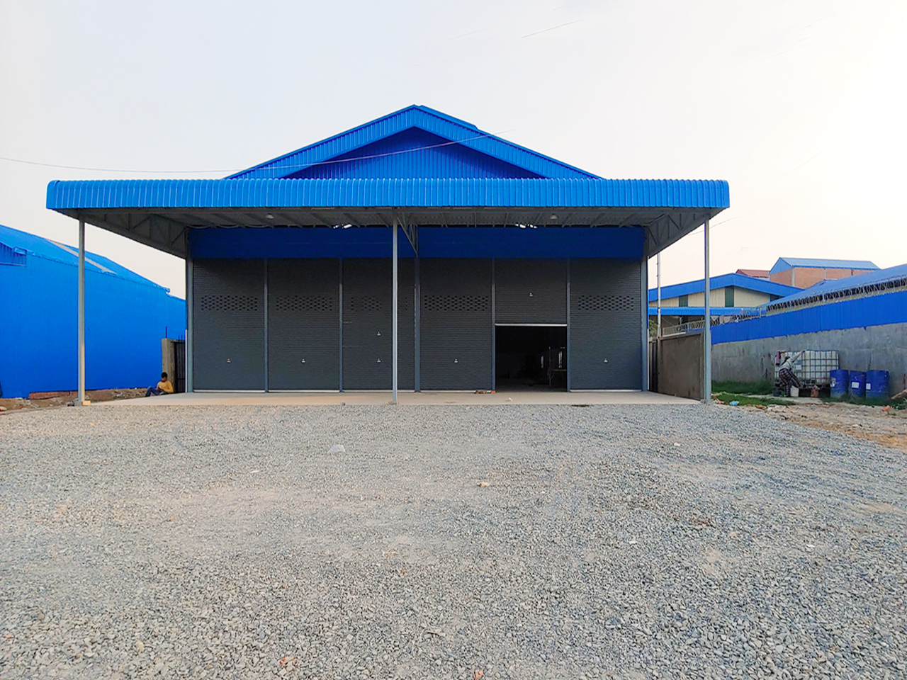 620 Sqm brand new warehouse for rent in Krang Thnong