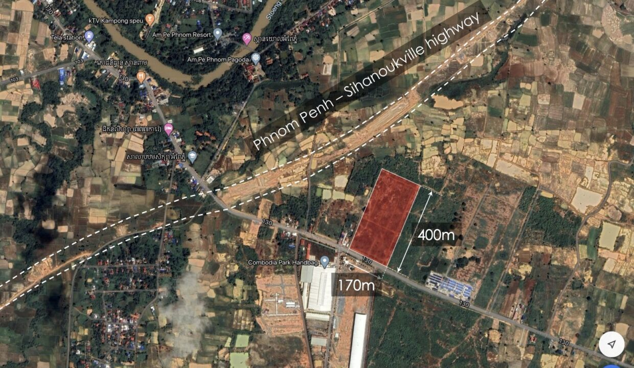 7.9 Ha Land For Sale 4 Kilometers From Krong Chbar Mon Location