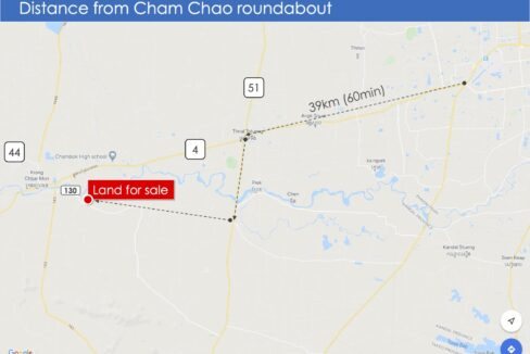7.9 Ha Land For Sale 4 Kilometers From Krong Chbar Mon Map