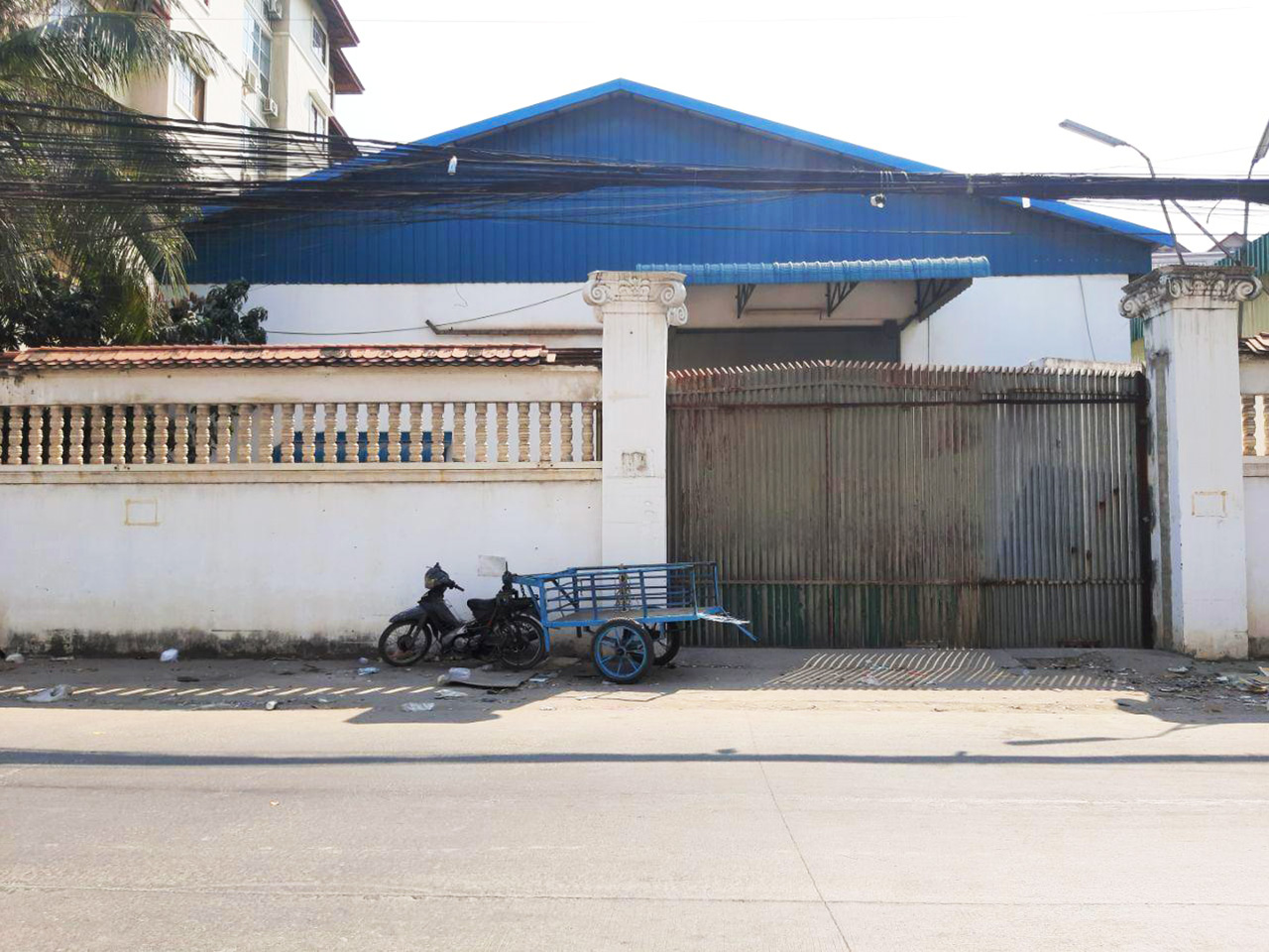 735 Sq.m warehouse for rent – Phsar Daeum Thkov area