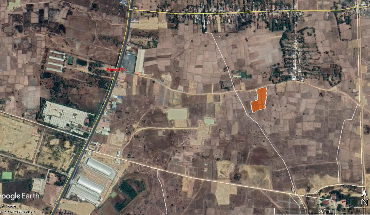 8317 Sq.m Land For Sale At St. 51, Near Bat Doeng Market Location Map