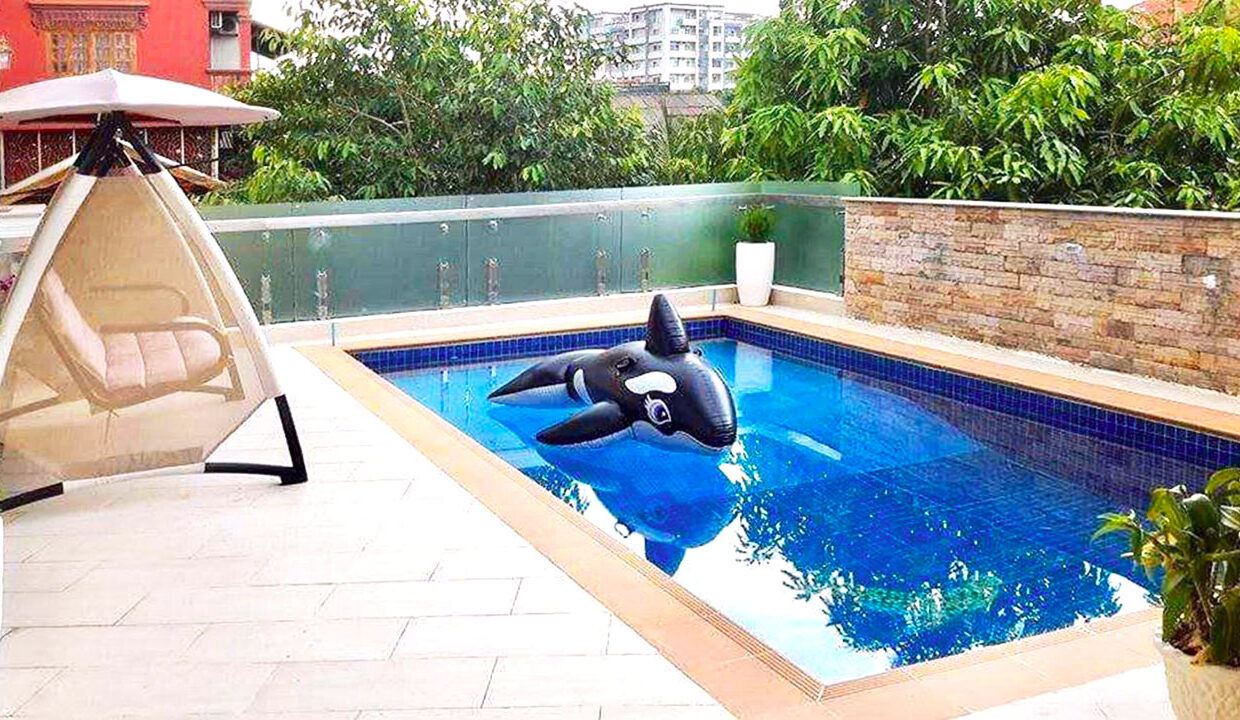 9 Bedrooms With Pool For Rent In Toul Kork Area 1