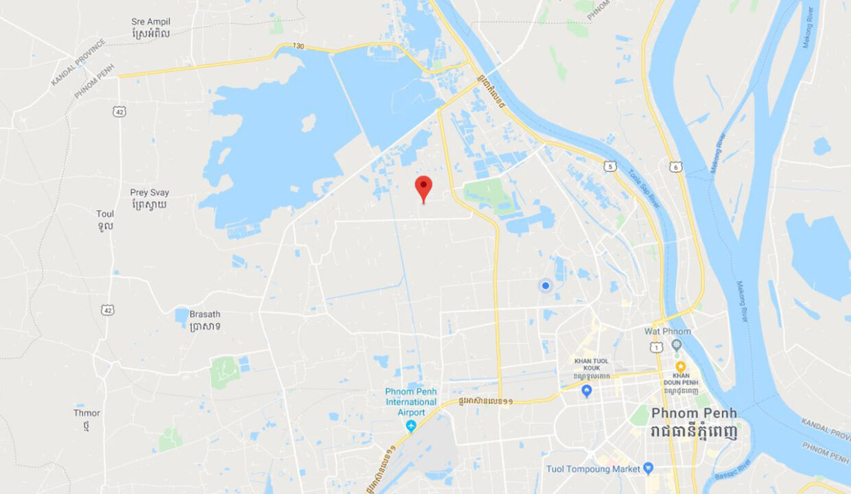 923 Sq.m Warehouse For Rent In Sen Sok Area Map