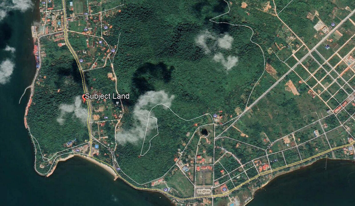 A Potential 809 Sq.m Land Near Kep Beach For Sale @ Krong Kep Location