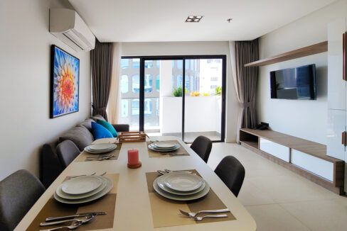 Brand New 2 Bedrooms Apartment Unit For Rent In BKK 1 Area Img2