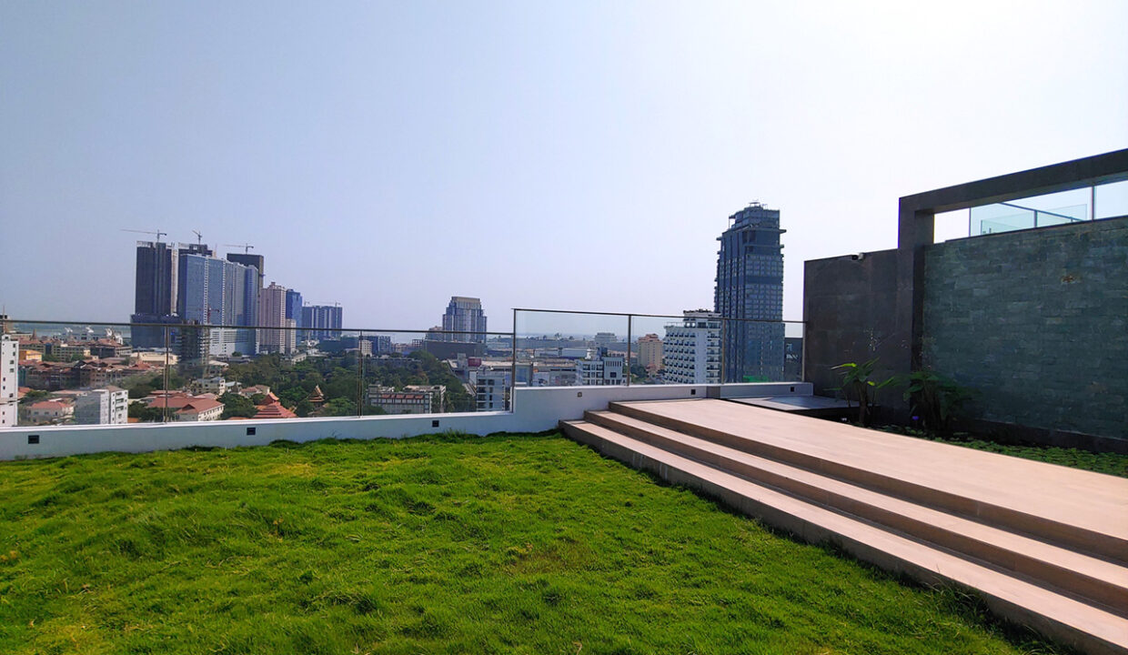 Brand New 4 Bedrooms Apartment Unit For Rent In BKK 1 Area Img14