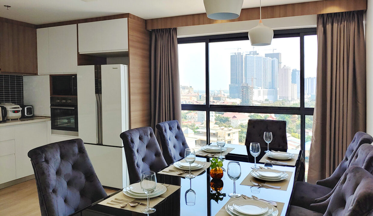 Brand New 5 Bedrooms Apartment Unit For Rent In BKK 1 Area 4