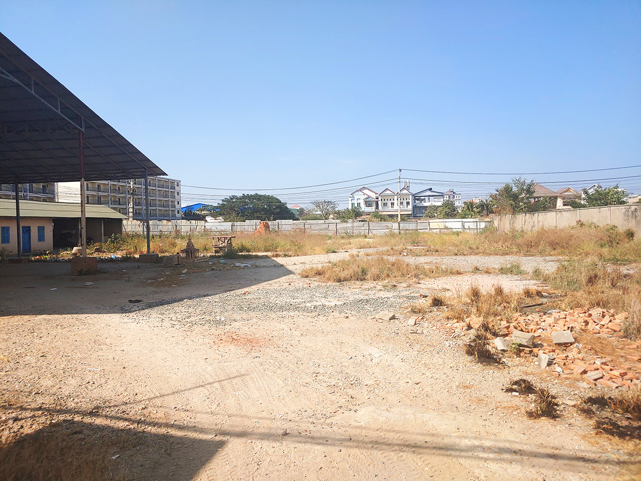 Commercial 1200 Sq.m potential land for rent near AEON MALL 2