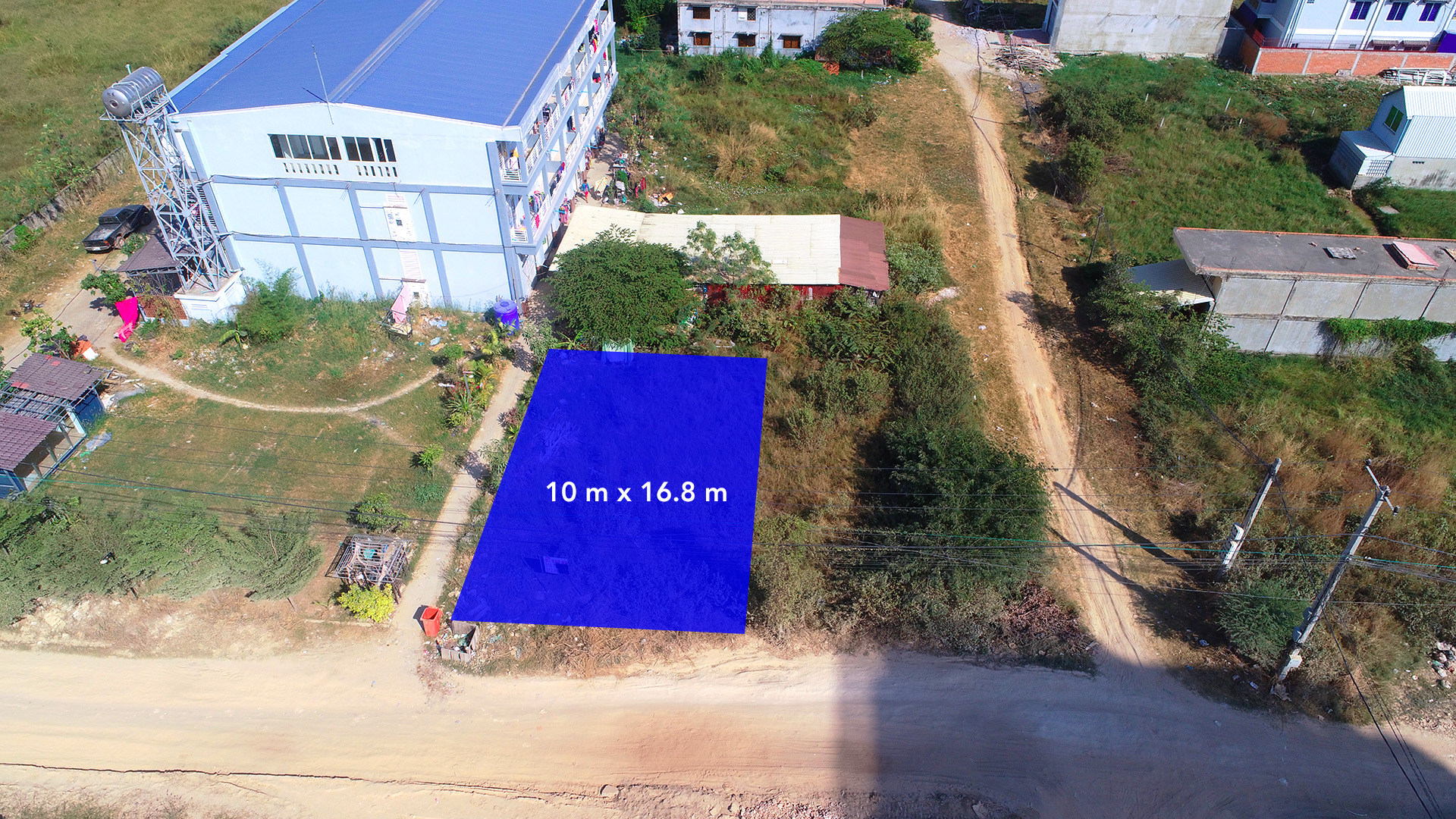 Land for sale very urgent in front of AEON and GLOBAL