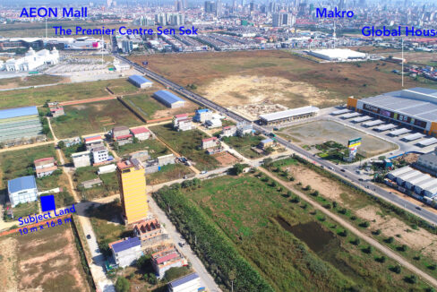 Land For Sale Very Urgent In Front Of AEON And GLOBAL Img2
