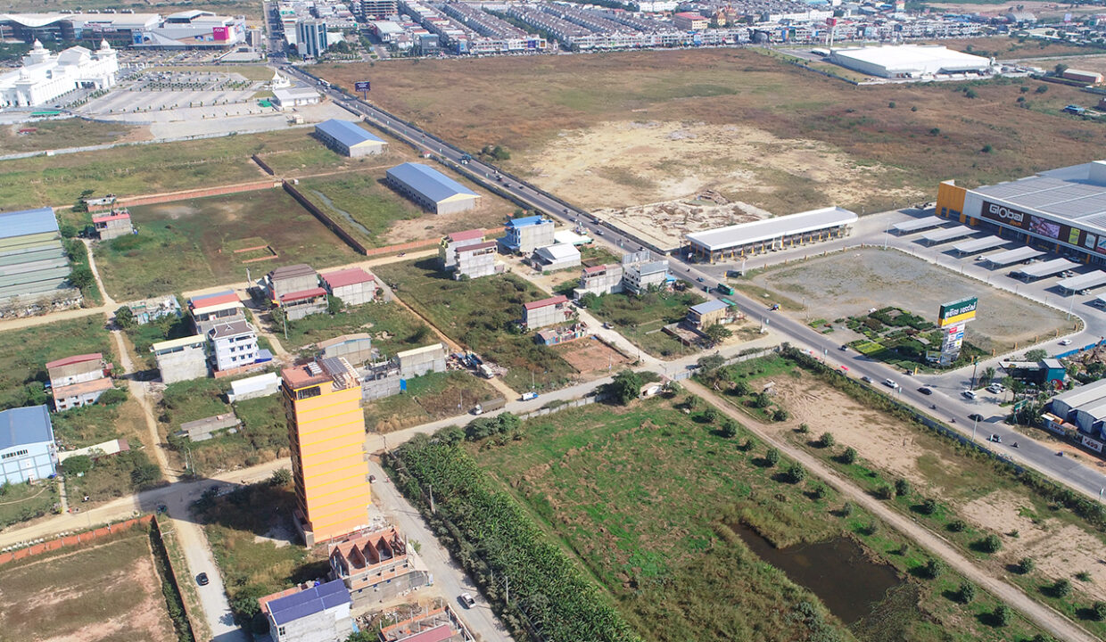 Land For Sale Very Urgent In Front Of AEON And GLOBAL Img3