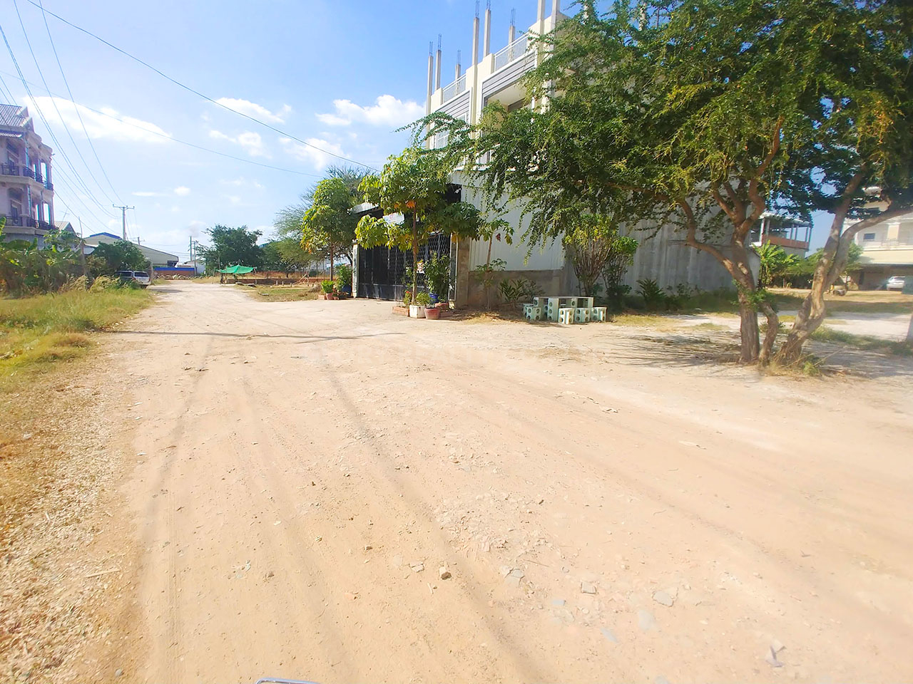 Land for sale very urgent in front of GLOBAL and AEON 2