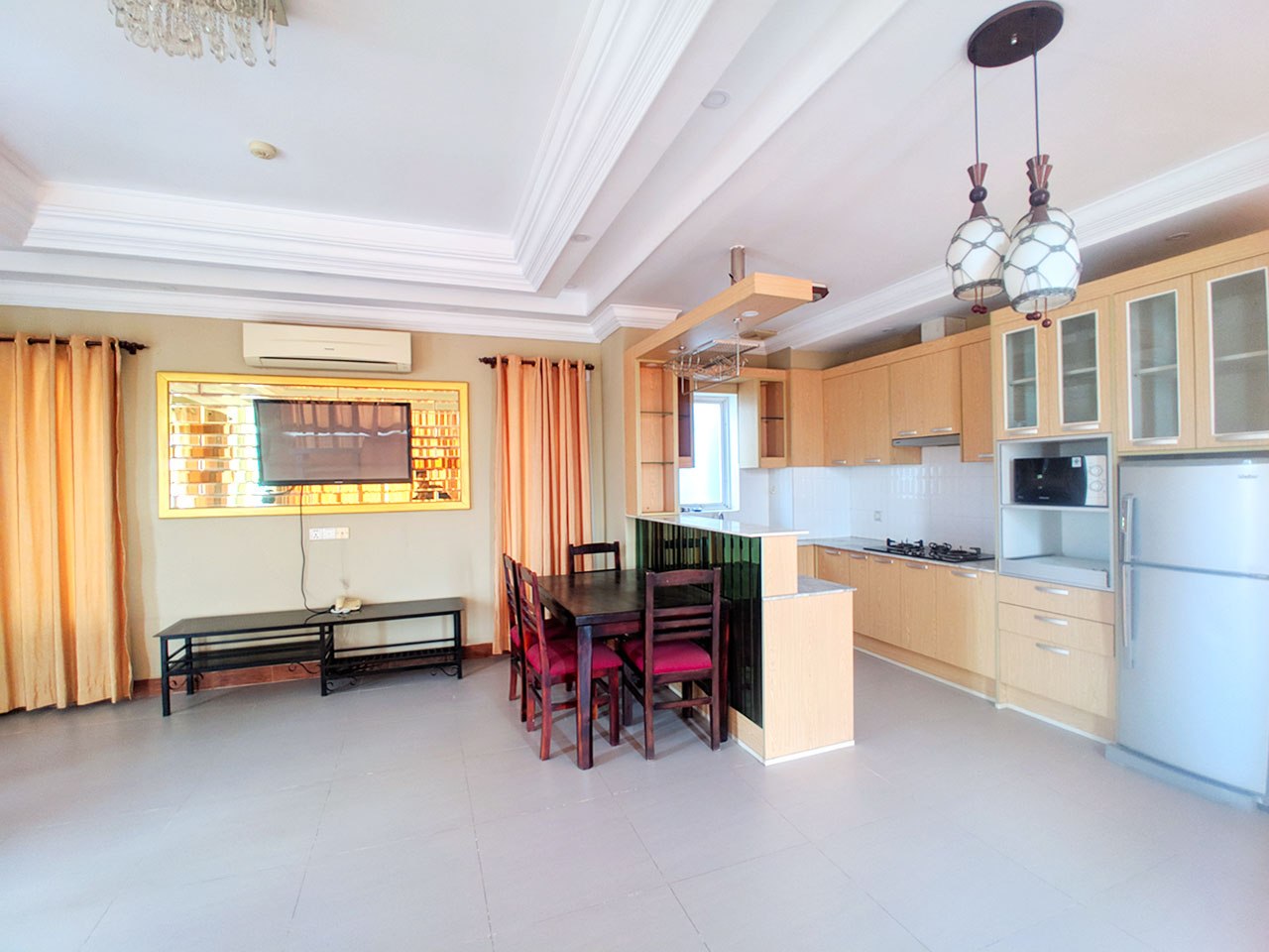 1 Bedroom Penthouse for Rent @ Tuol Tumpoung 2 Area