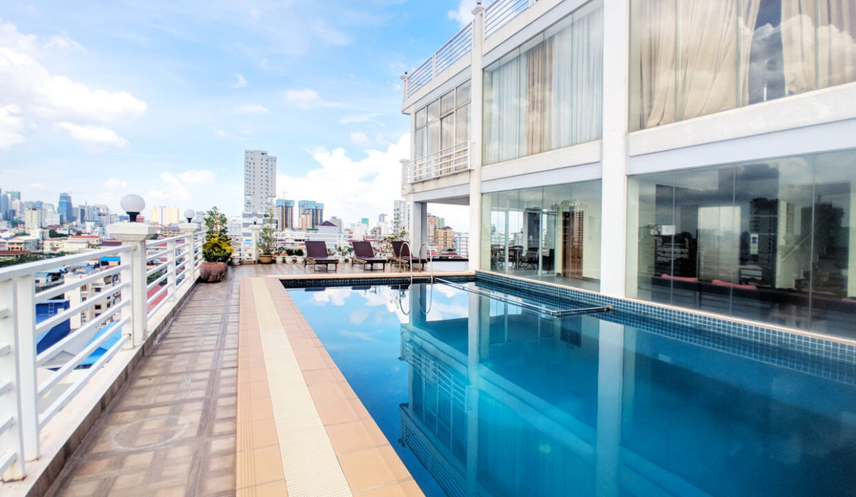1 Bedroom Penthouse For Rent @ Tuol Tumpoung 2 Area Img7