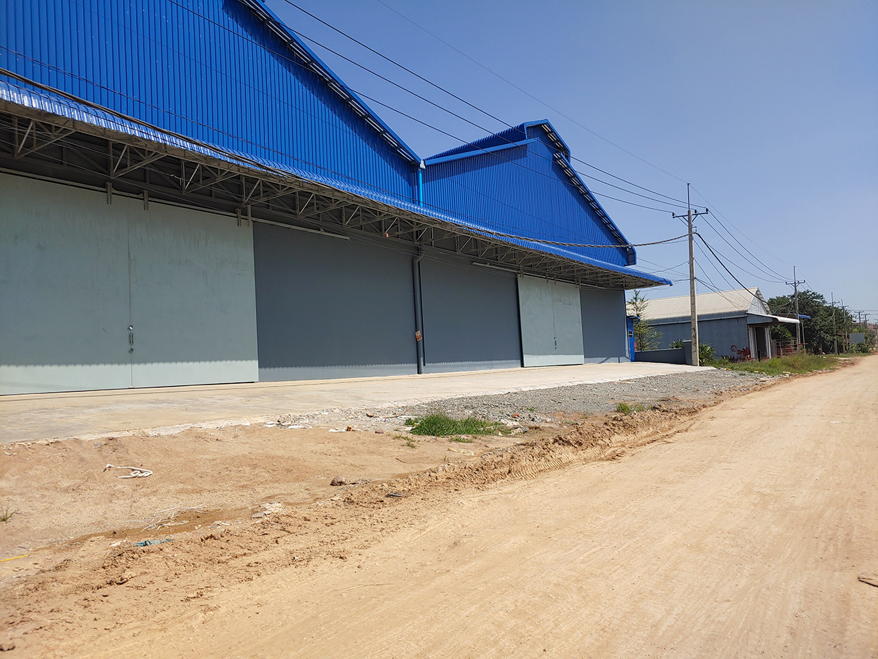 1152 SQM warehouse for rent @ Phnom Penh Thmei