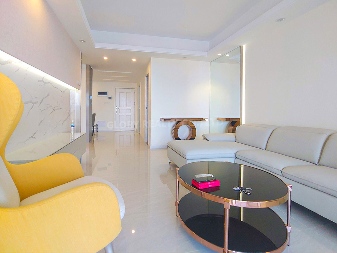 2 Bedrooms condo unit for rent at Sky31 Toul Kork area