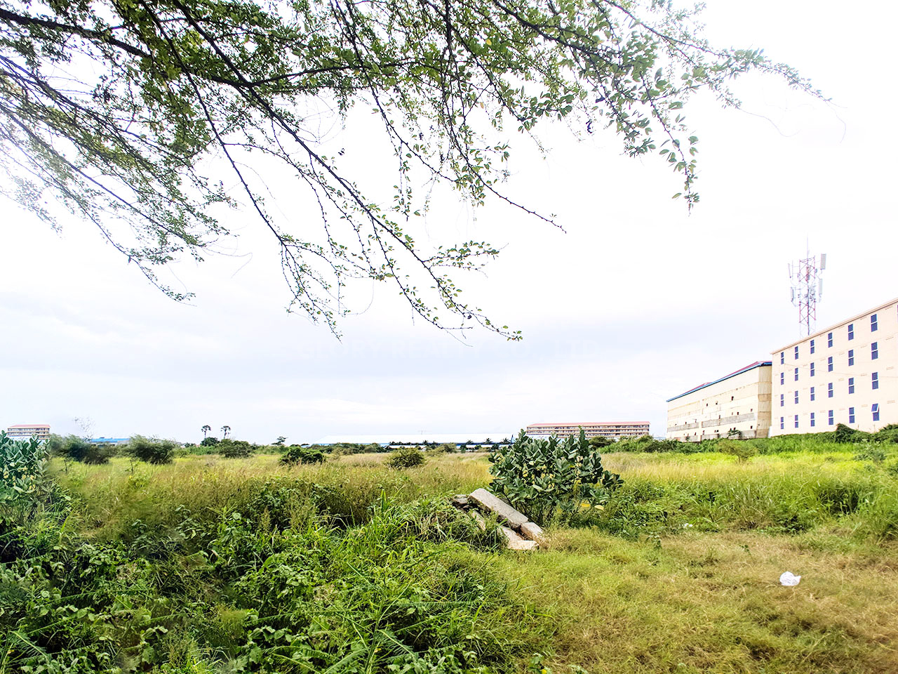 2 Ha potential land for sale in 100 off from Trung Morn street