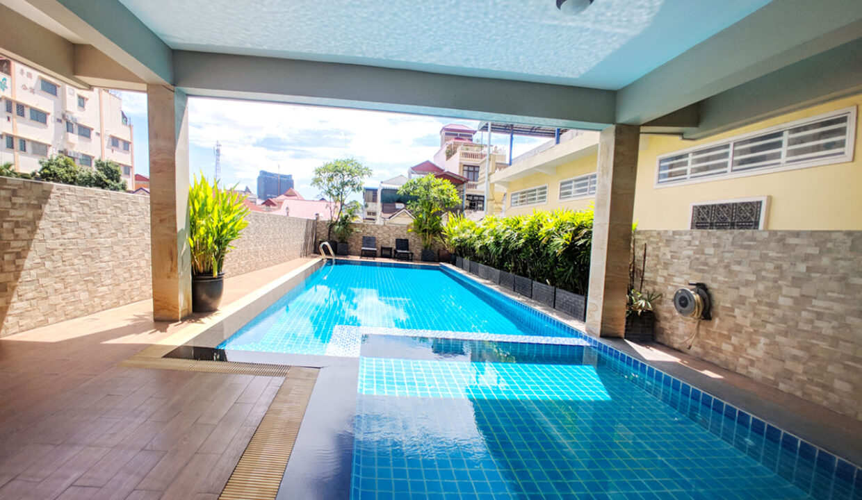 2 Bedrooms With Pool For Rent @ Tuol Svay Prey 1 Img8