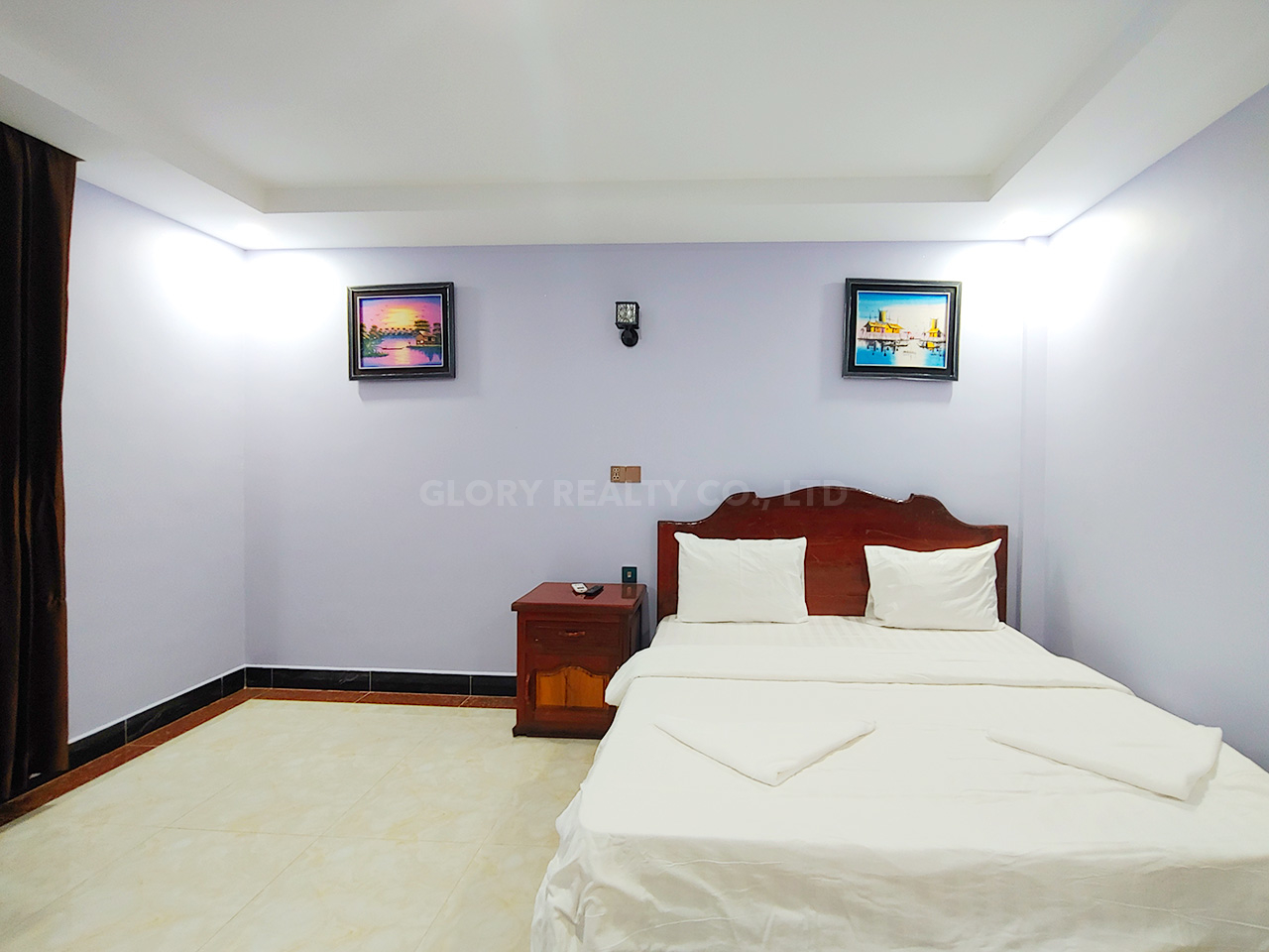 60 rooms hotel building for rent in Phnom Penh Thmei area