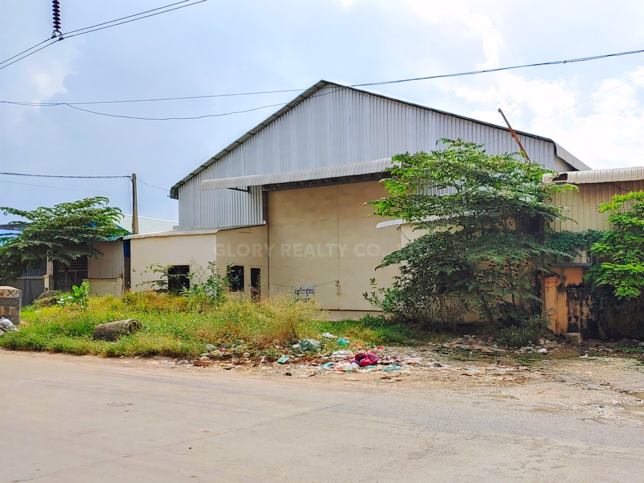 700 Sqm warehouse for rent @ Steung Meanchey area