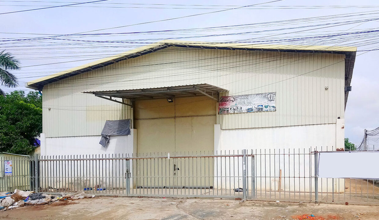 720 Sq M Warehouse For Rent @ Phnom Penh Thmei Img1