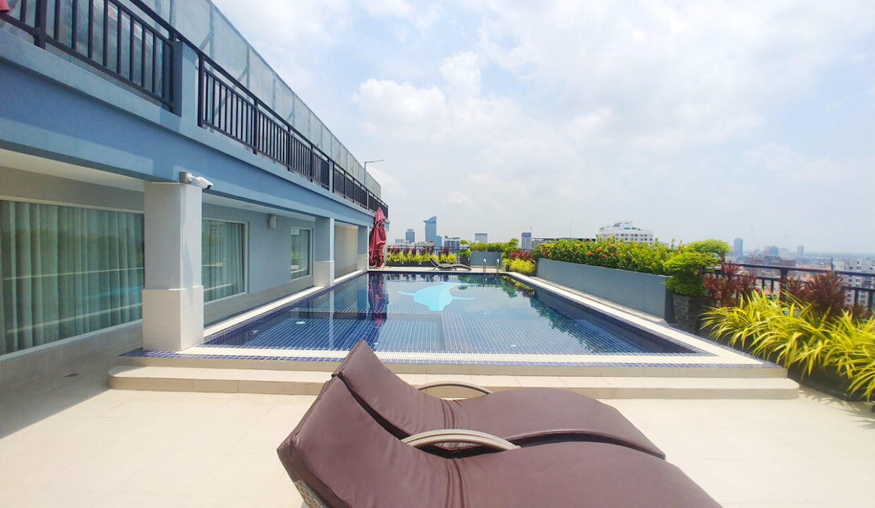 Nice And Clean 2 Beds Apartment For Rent @ Boeung Raing Img9