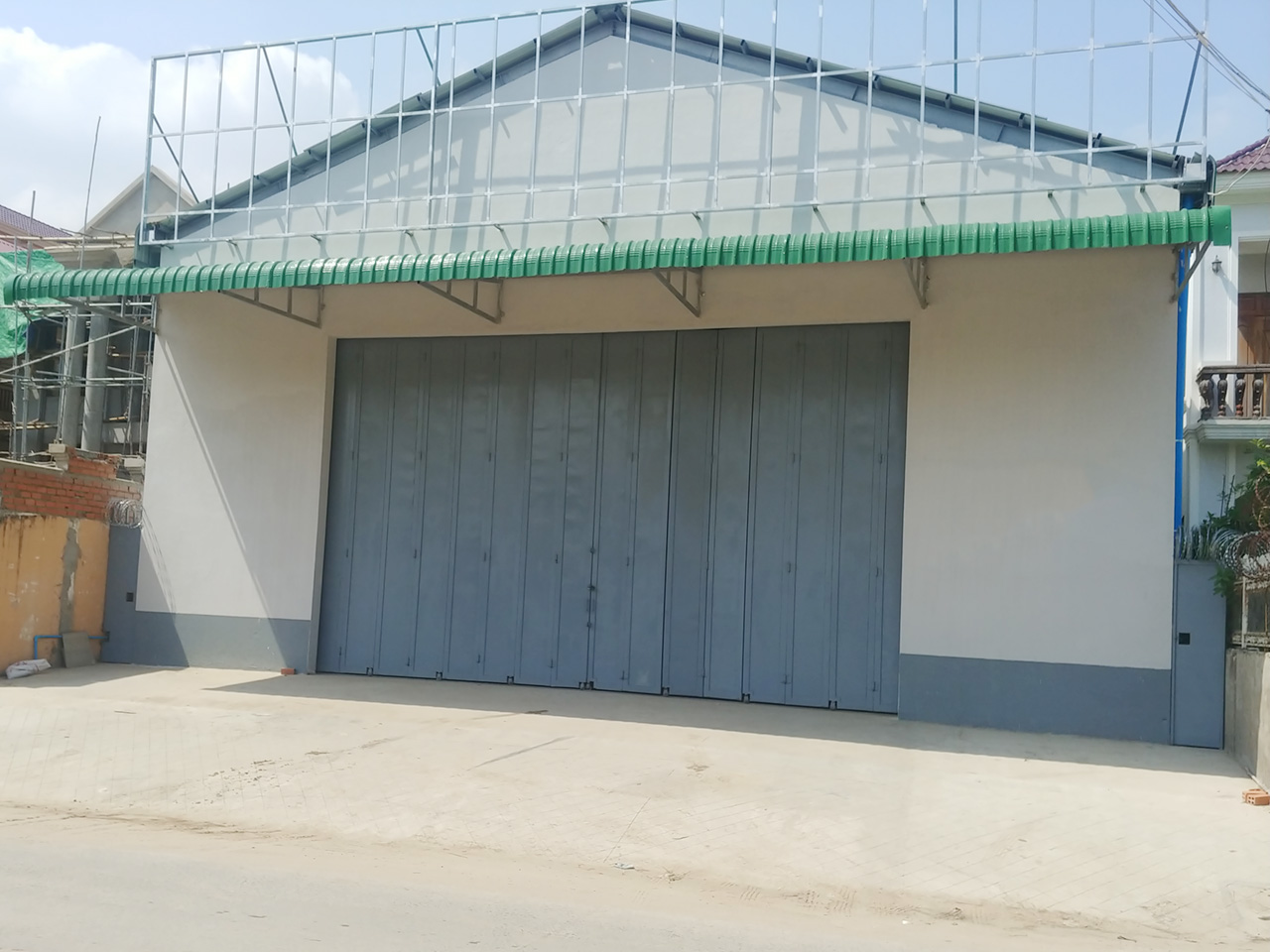 Standard new-build warehouse for rent @ Phnom Penh Thmei