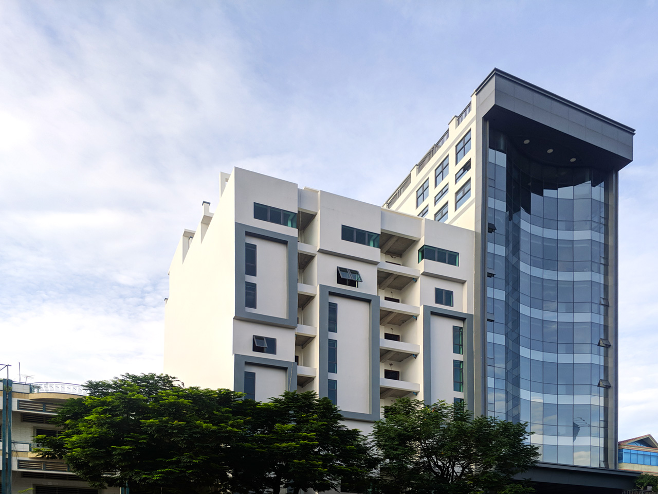 Whole 8 floors building for rent @ Toul Kork area