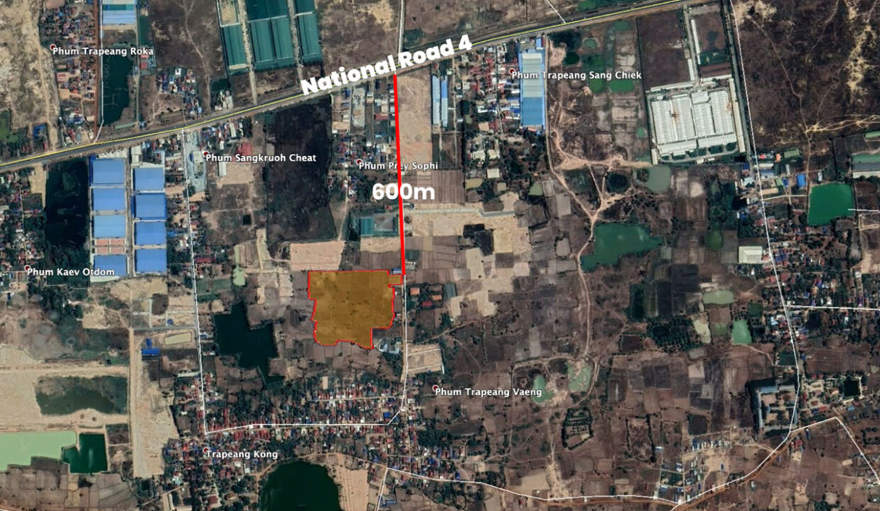 5.4 Hectares Land For Sale Kampong Speu Province Img5