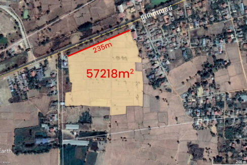 5.7 Hectares Land For Sale Along NR4, Kampong Speu Img4