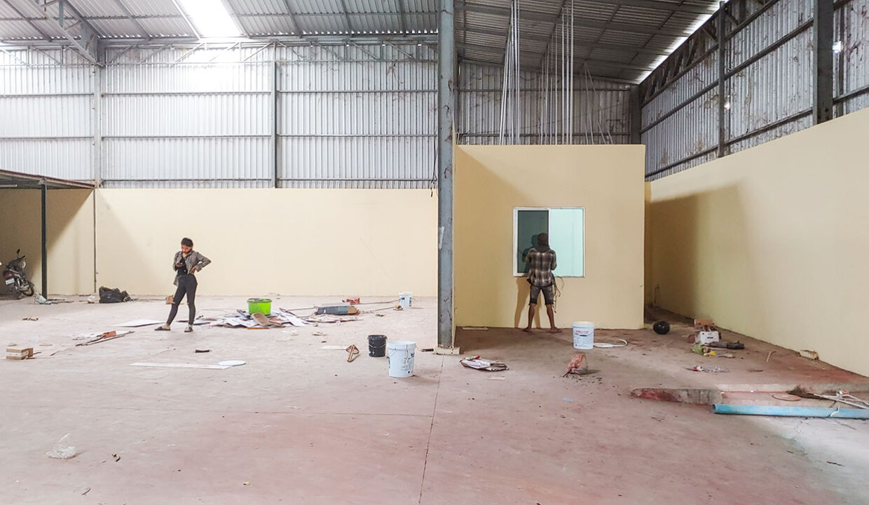 500 Sq.m Warehouse For Rent Phnom Penh Thmei Area Img2