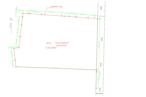 7.5 Ha Potential Land For Sale Angk Snuol District 5