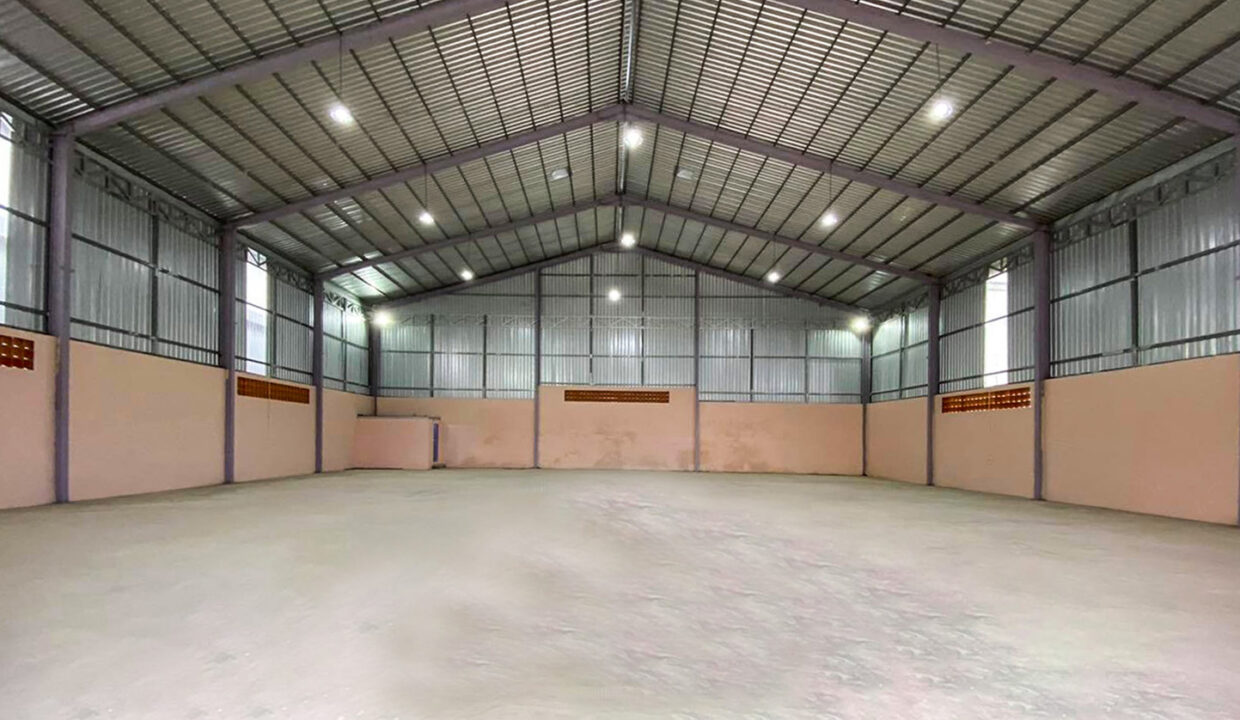 Nice Build Warehouse For Rent Closed To Wat Samroung Andet Img3