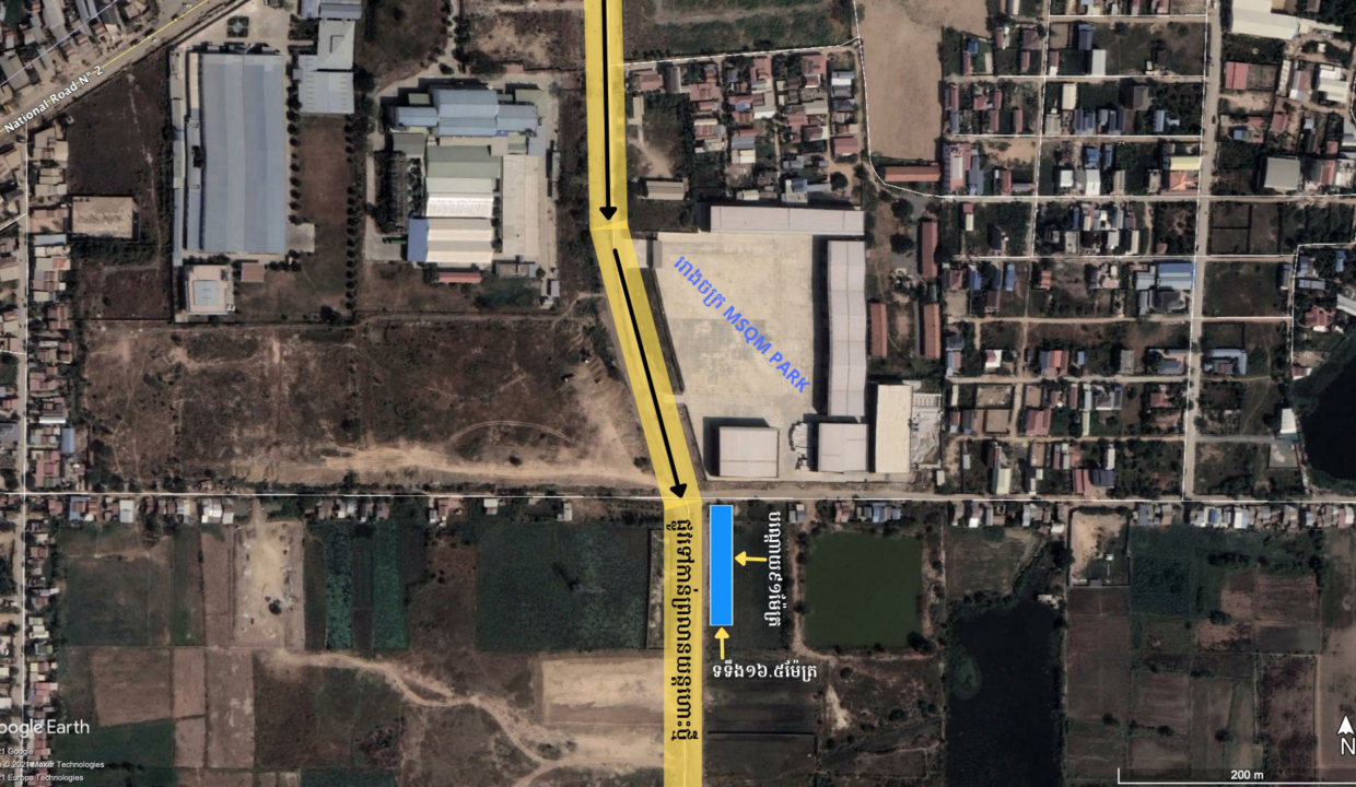 1495 Sq.m Conner Land For Urgent Sale Krong Ta Khmau Img6